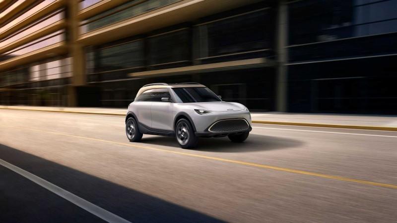 Smart Concept #1, 2021 Smart Concept #1, dientungaynay Smart Concept #1, Smart Concept #1 EV, crossover Smart Concept #1