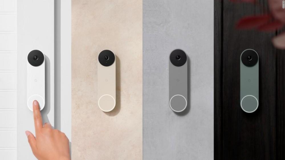 Nest Doorbell Battery có 4 màu