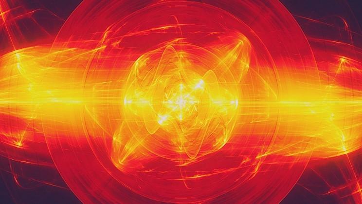 Hình ảnh được tạo 3D của một plasma nóng rực lửa (ảnh minh họa).