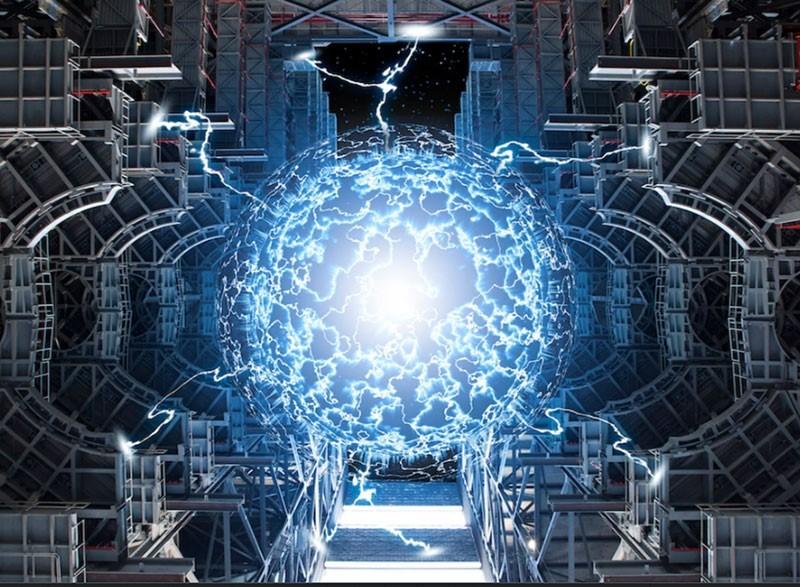 Lò phản ứng nhiệt hạch, hydro được đốt nóng cho đến khi nó trở thành plasma (ảnh minh họa).