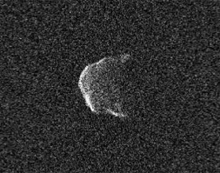 Tiểu hành tinh PJ1 2021 (ảnh NASA)