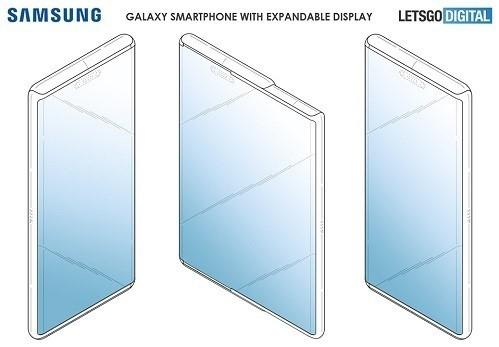 Samsung giới thiệu công nghệ màn hình có thể kéo giãn (ảnh samsung).