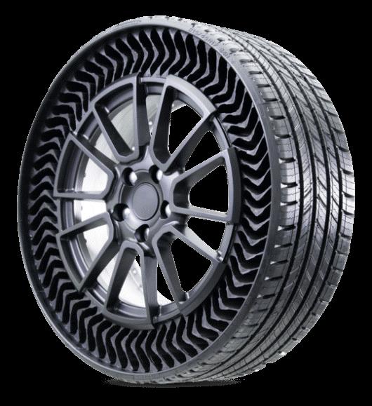Hệ thống lốp xe chống thủng độc đáo (UPTIS)