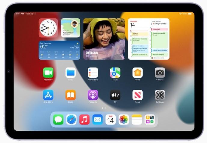 iPad mini 6 Apple A15