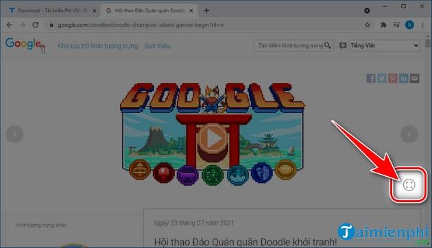 Google Doodle đảo quán quân khởi tranh!