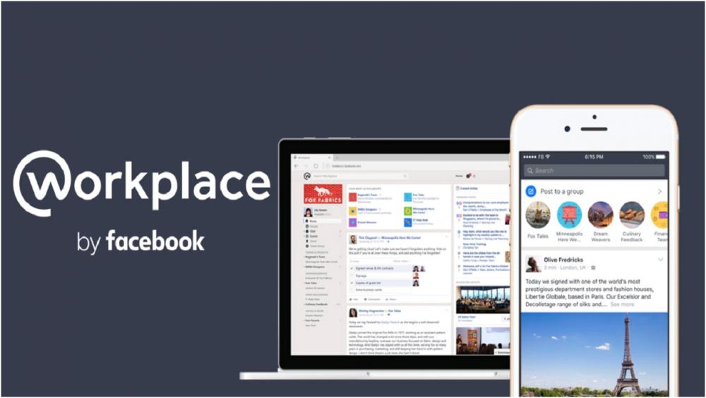 Workplace Facebook công cụ mới áp dụng vào học trực tuyế