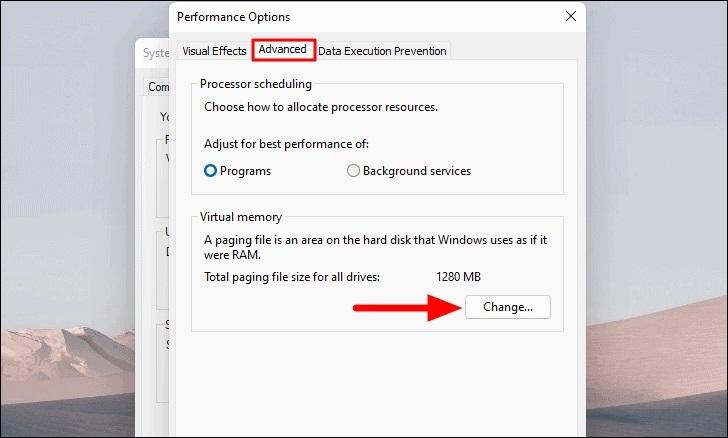 Tăng thêm RAM ảo cho máy tính