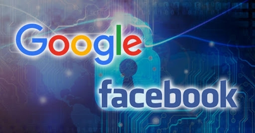 Hình ảnh Google và Facebook