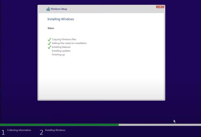 Windows 11 Installing