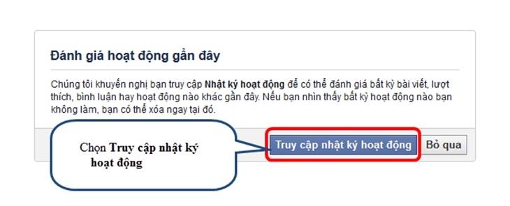 Bước khôi phục tài khoản facebook
