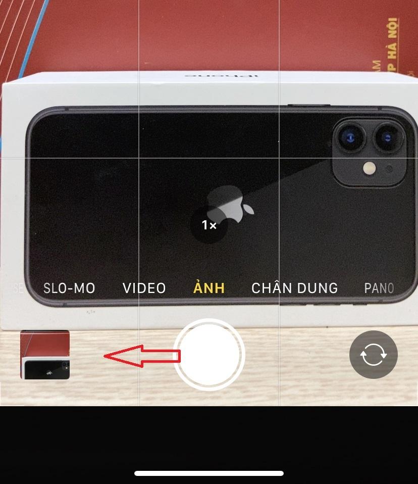 Cách chụp ảnh liên tục với iPhone 11