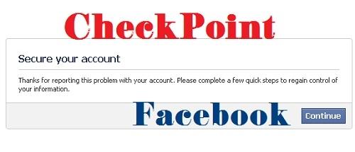 Checkpoint Facebook