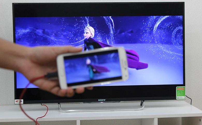 Chọn HDMI/MHL >> Nếu tương thích