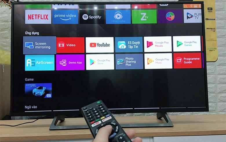 Cách phản chiếu hình ảnh từ điện thoại sang tivi với Screen Mirroring