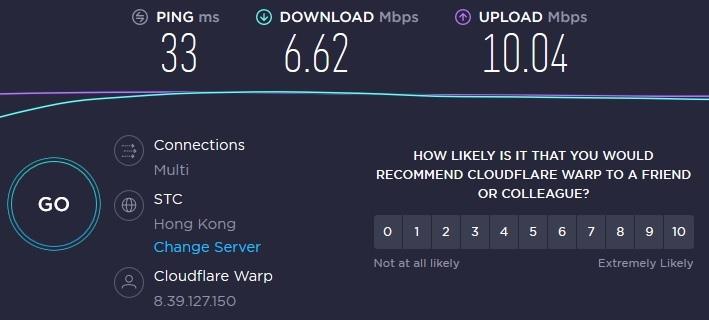 Kiểm tra tăng tốc đường truyền internet quốc tế