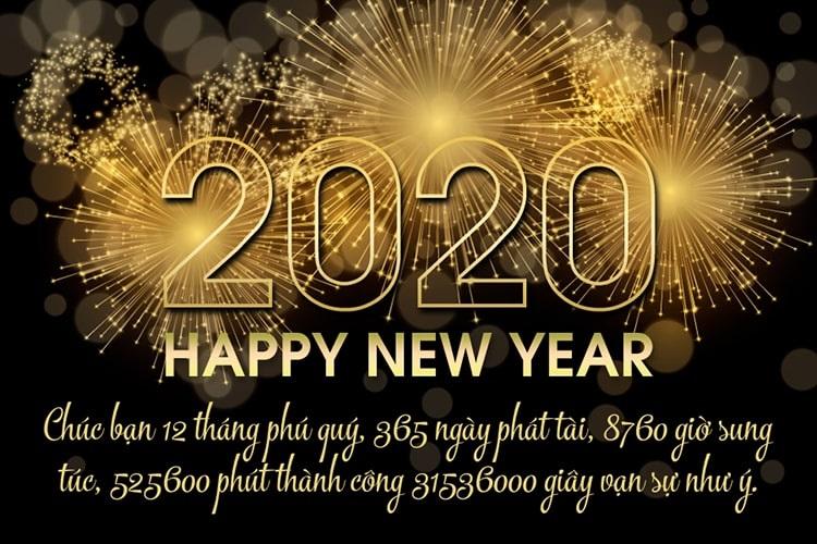 Chúc mừng năm mới - Happy New Year!