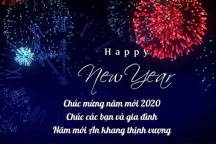 Chức mừng năm mới 2020. Chúc các bạn và gia định năm mới An khang thịnh vượng